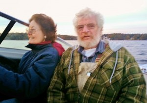 Mary Ellen & Ron boating