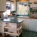 Small but convenient kitchen has it all