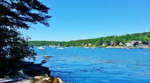 Linekin Bay from the picnic area
