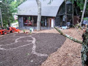 Initial lay-out of the Studio Garden, 2009